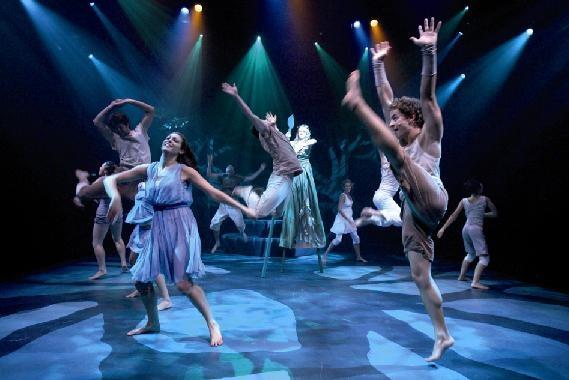 Aboriginal Theatre. Australia.