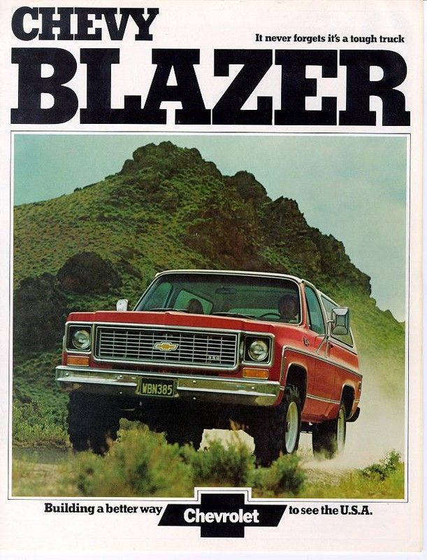 #MemoriesMonday - Who used to (or still does) rock the classic Blazer?