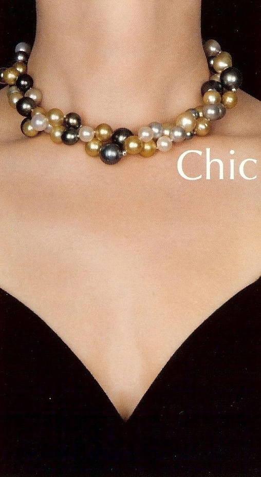 Dare Necklace...As a Choker...Chic