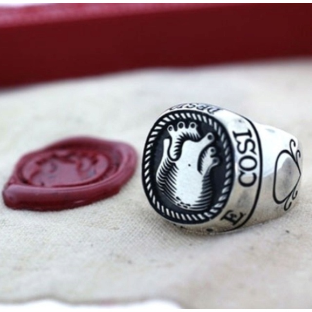 Wax Seal Stamp Ring