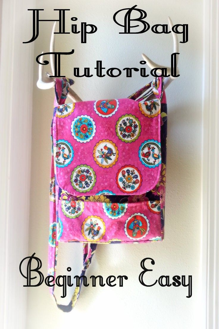 """While looking For a project to use my """"cute ugly"""" fabric on, I decided I not only wanted but needed a shoulder bag for running in and out with my kids. I currently tote a big ole back p…"""