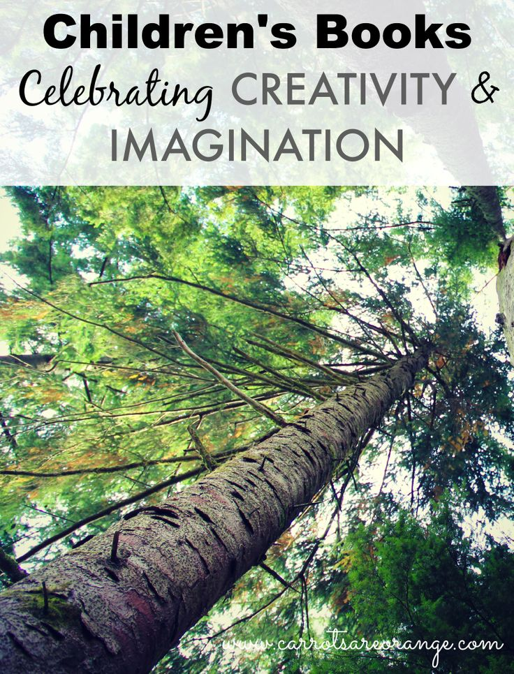 a great list of books on creativity and imagination to add to your list