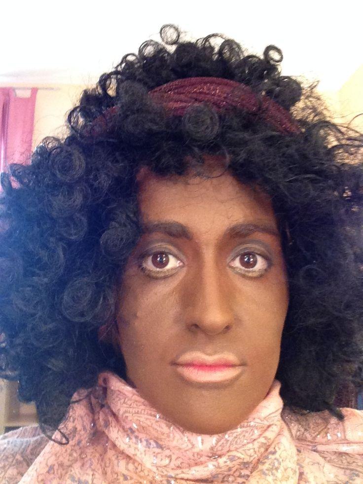Maquillaje para teatro negrita