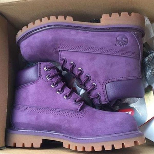 timberland femme purple