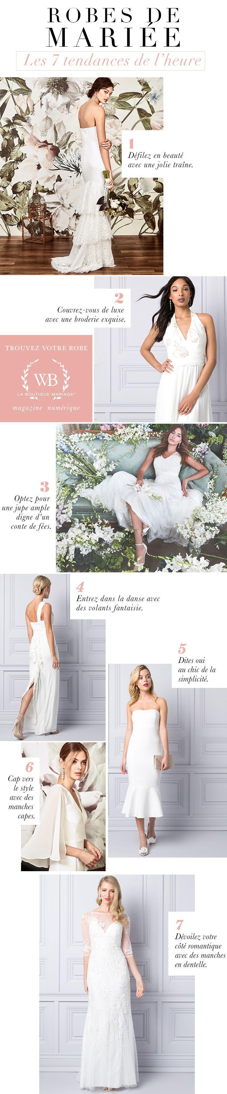 Robes de mariée : les 7 tendances de l'heure