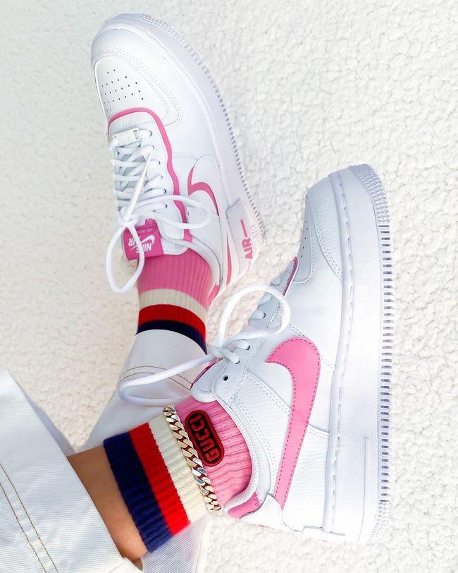 Air Force 1 Shadow Magic Flamingo   Chaussure nike air, Nike air ...