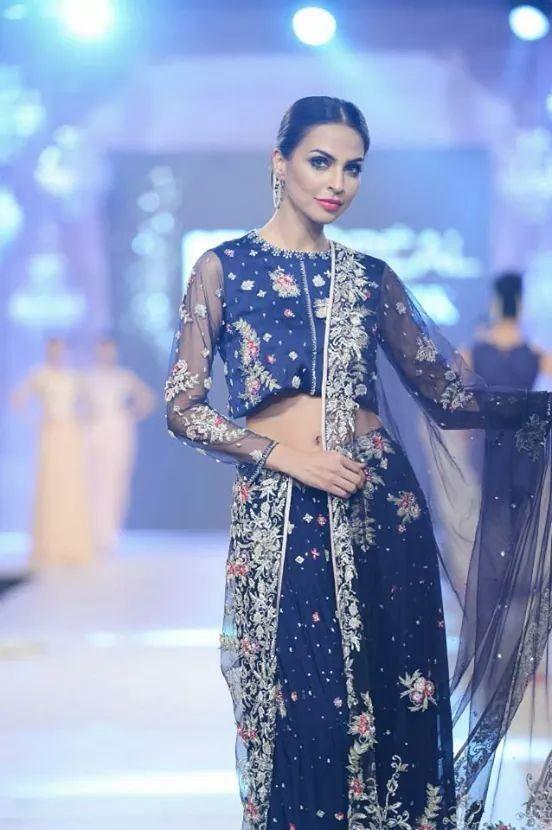 sobia badar dress....presented in PFDc loreal bridal week 2014 ...pinned by sidrah younas