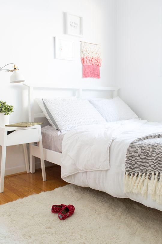 DIY Modern Girls Room Makeover Reveal! @valsparpaint #valsparreserve