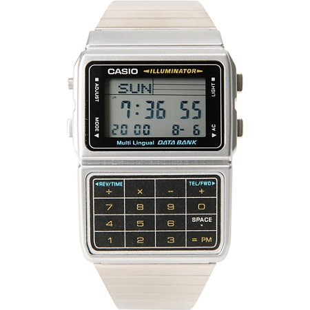 calculator watch - the ultimate in geek chic