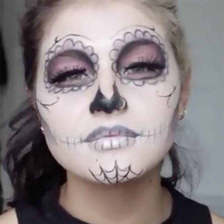 15 to die for sugar skull makeup looks that win halloween - Best Halloween Makeup To Use