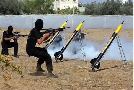 Hamas Shoots Rockets from School, Cemetery