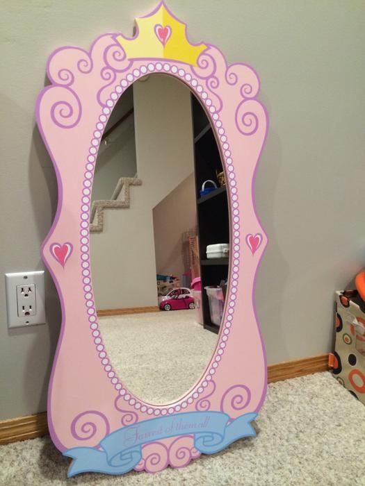 Disney Princess Wall Mirror Disney Princess Bedroom
