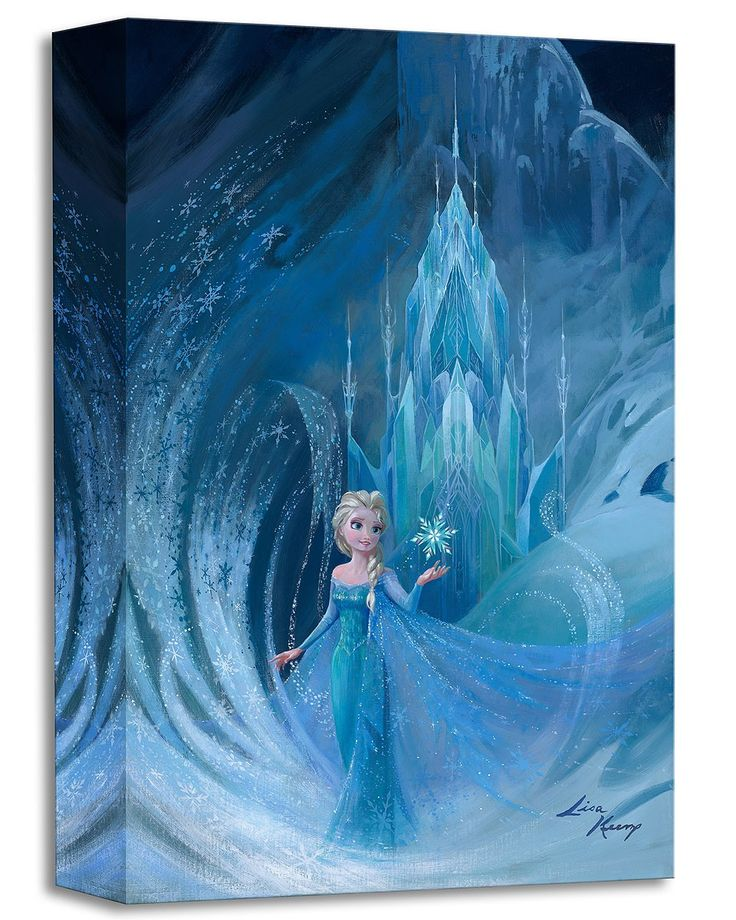 Frozen - Well Now They Know - Elsa - Gallery Wrapped - Lisa Keene - World-Wide-Art.com - #frozen #disney #lisakeene