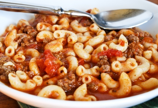 American Goulash or American Chop Suey-My favorite all time comfort food!! Easy -Breezy to make. Recipe makes a big pot!