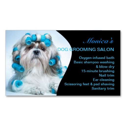 18 best dog grooming business cards images on pinterest dog dog grooming business card solutioingenieria Choice Image