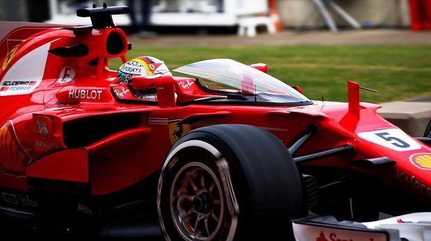 Con il quarto tempo dietro a Raikkonen e a 460 millesimi da Bottas, Sebastian Vettel ha sottolineato che non è rimasto soddisfatto da questo venerdì di libere inglese