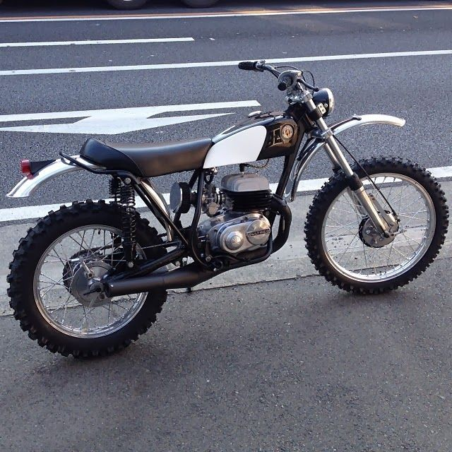 Bultaco Frontera 250 Honda 90 Scrambler Kawasaki 250TR M&M's in Japan consistently turn out the neatest street trackers and st...