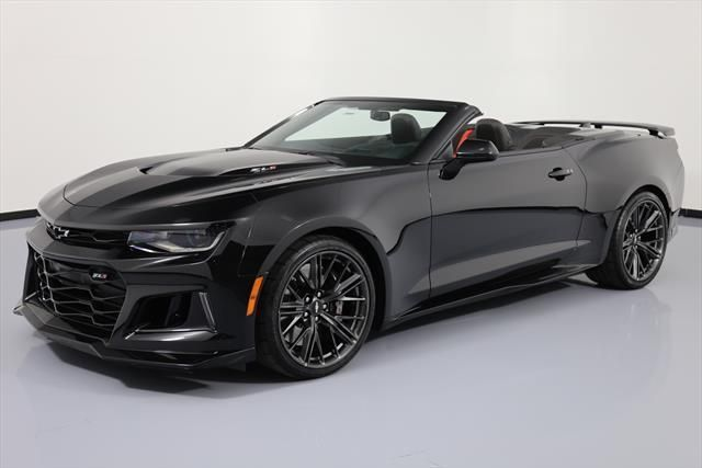 Nice Great 2017 Chevrolet Camaro ZL1 Convertible 2-Door 2017 CHEVY CAMARO ZL1 CONVERTIBLE 6-SPD RECARO NAV 1K #163560 Texas Direct Auto 2018