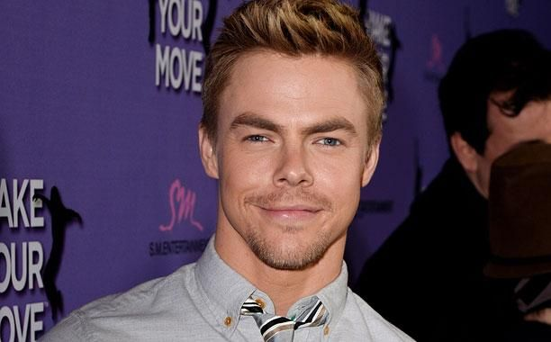 Derek Hough wants The Rock on Dancing with the Stars: Interview | EW.com