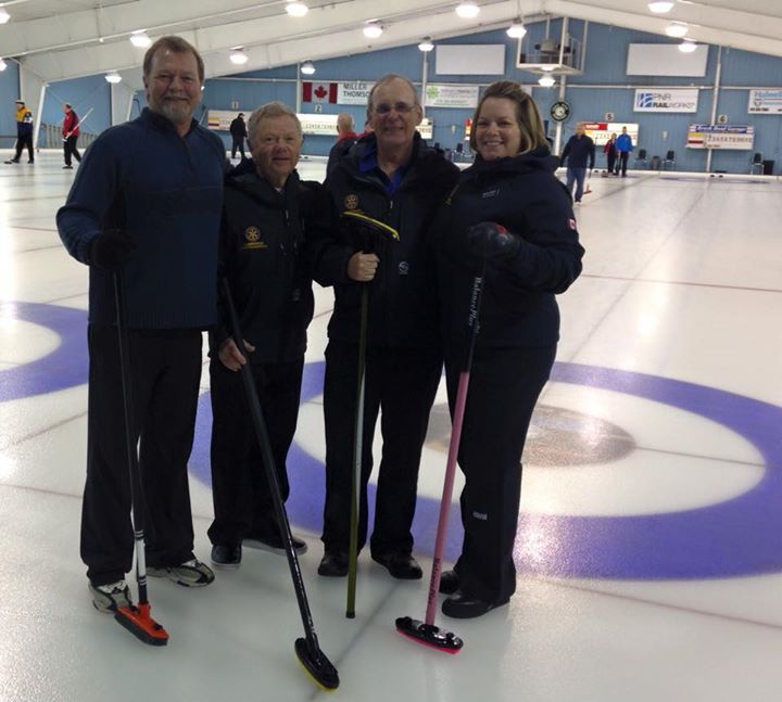 Curling Bonspiel 2016! A fun time was had by all at the Galt Curling Club