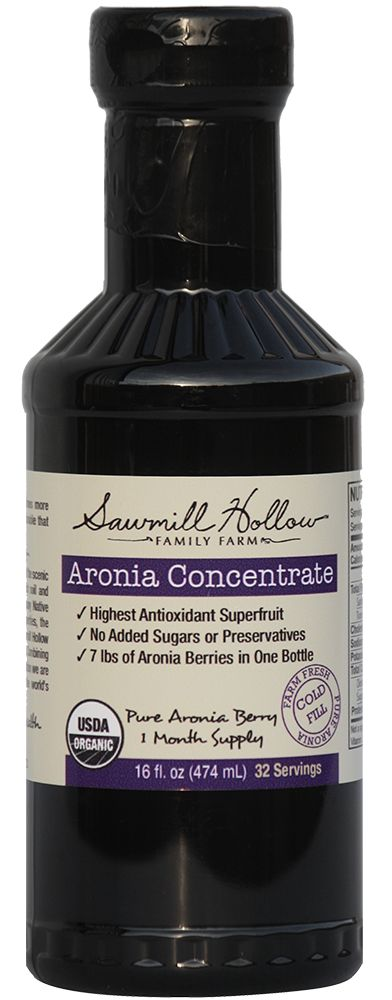 Organic Aronia Berry Concentrate, Organic,  no added sugar