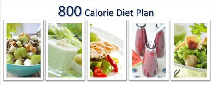 800 calorie diet plan - fast weight loss