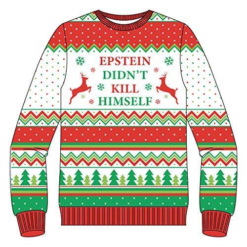 Merry Rexmas Christmas Sweatshirts Off Shoulder Dinosaur Sweaters for Xmas.