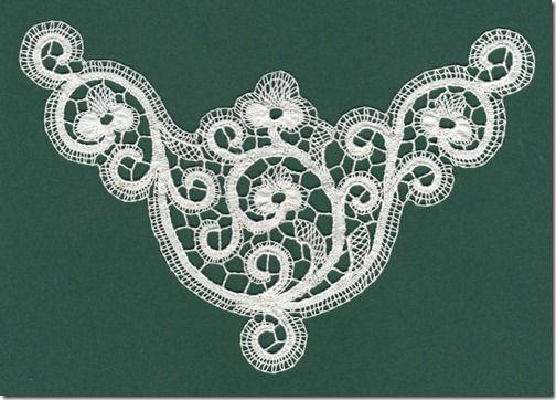 Cantu lace (Italian)