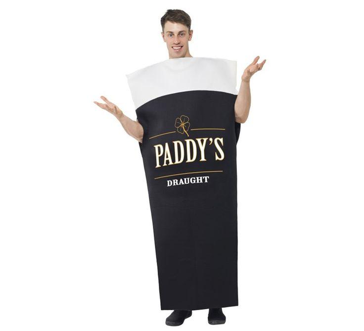 Disfraz #Cerveza #Paddys Draught para Hombre. #saintpatrick #stpatrick #sanpatricio #disfraces #disfrazzes #costume #costumes #beer