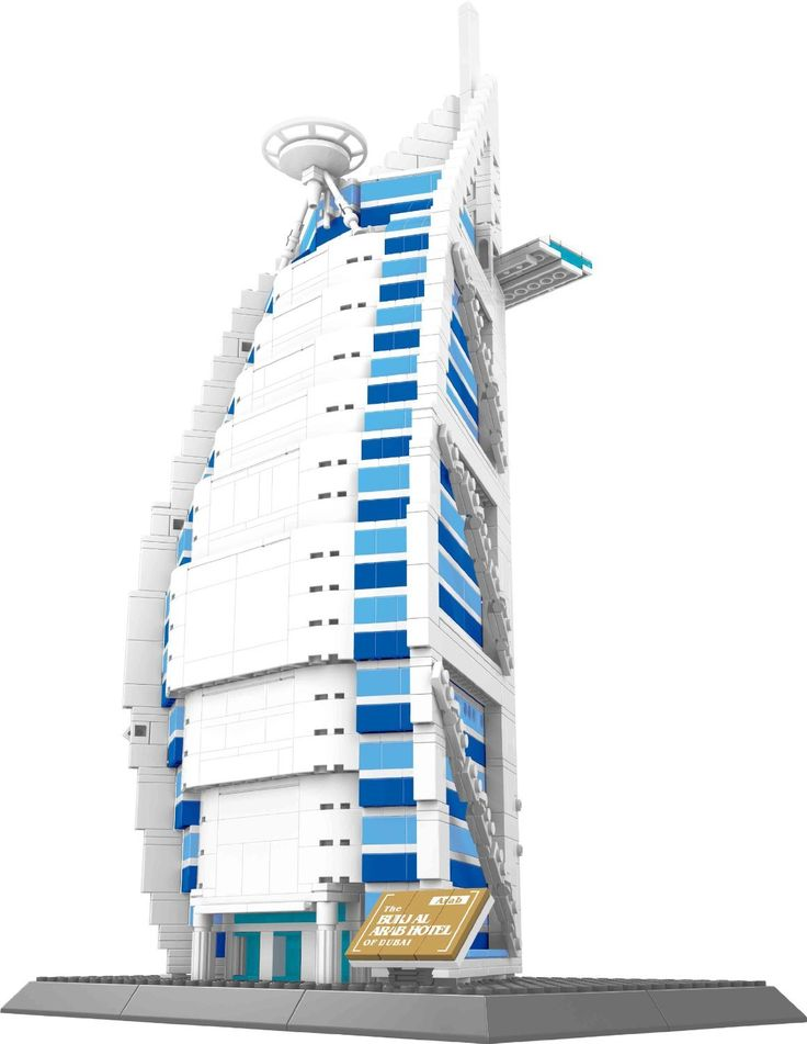 Wange 8018 Building Block the BURJ AL ARAB HOTEL OF DUBAI model brick toy for children boy gift -- Awesome products selected by Anna Churchill