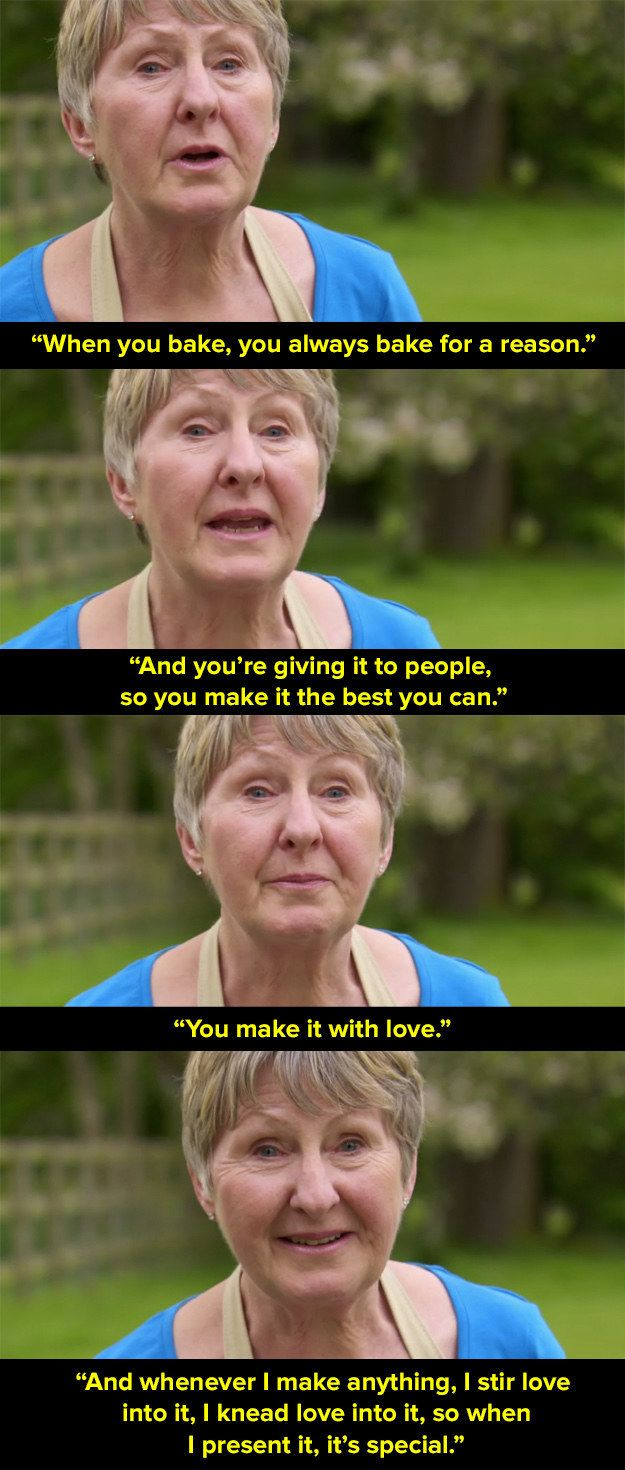 "When Val made this emotional speech. | The 37 Most Important Moments Of ""Bake Off"" 2016"