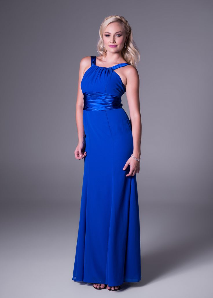 Round shoulder bridesmaid's dress.<b>To order only</b>