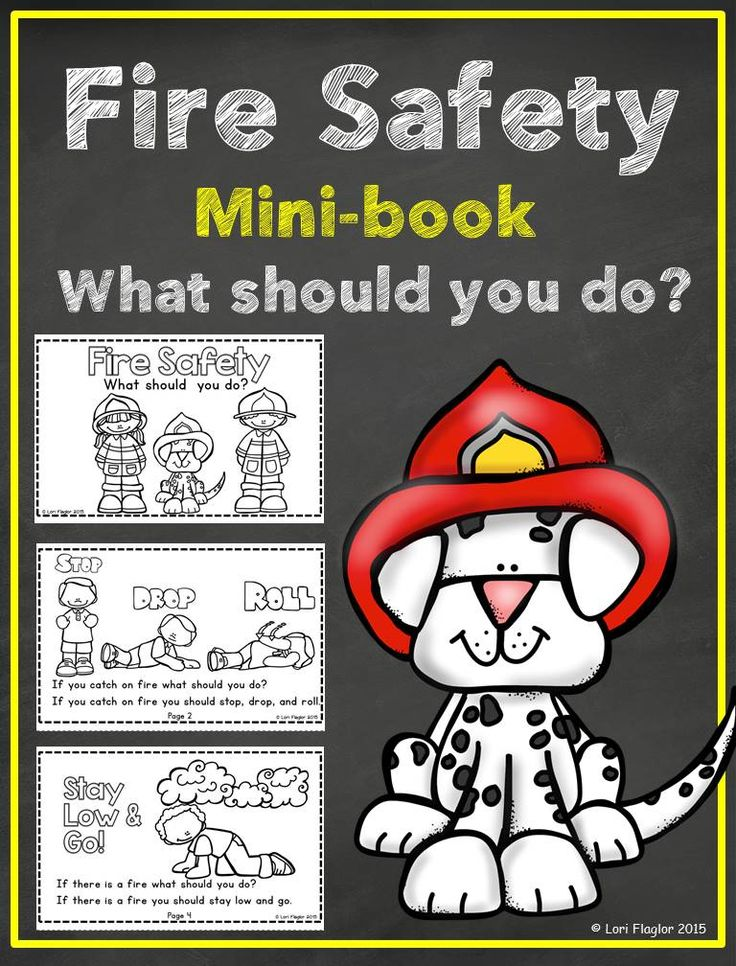 The 148 best kid saftey images on pinterest school bus safety fire safety minibook fandeluxe Image collections