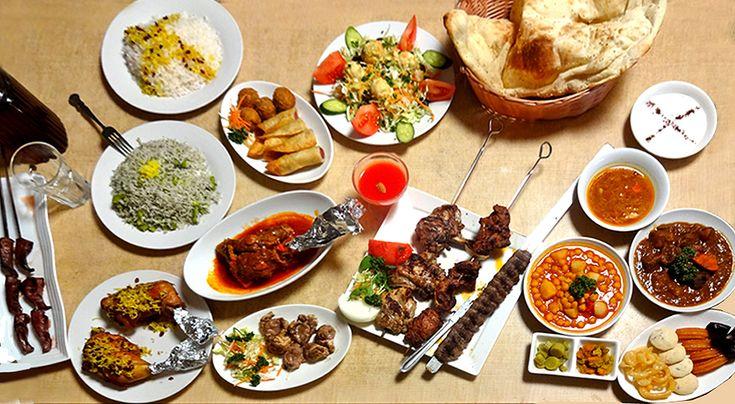 「ザクロ」 谷中の料理屋 ・イラントルコウズベキスタン料理 ・「食べきれないコース」2000円 ・ディナータイムは店主が歌って踊る ・ベリーダンスもある