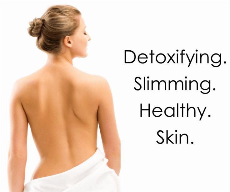In need of a detox?Our wraps rid the body of excess toxins leaving you