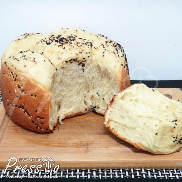 Pão Caseiro na Pressão | Receitas na Pressão