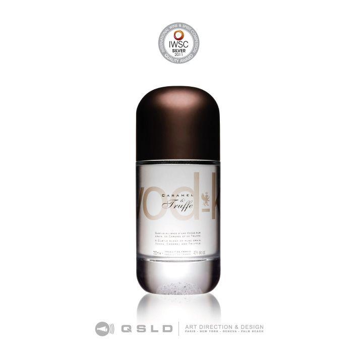 VOD-K – Fryd Food & Drink : International Spirits Challenge – Design and Packaging, Silver Medal - Design by QSLD