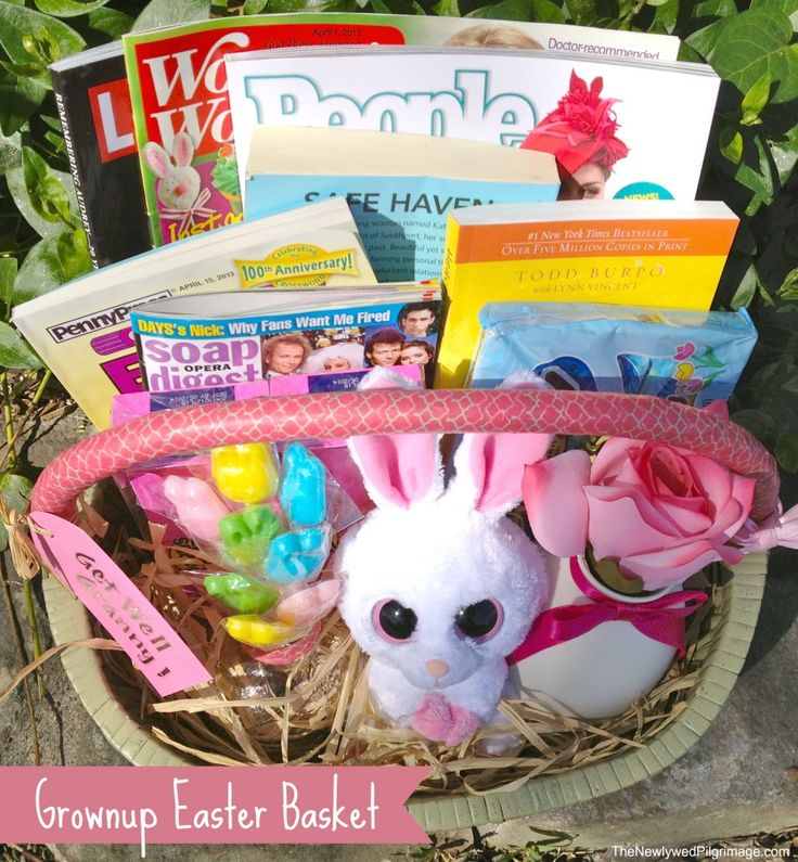 80 best easter baskets images on pinterest boyfriend presents diy grownup easter basket for adults negle Image collections