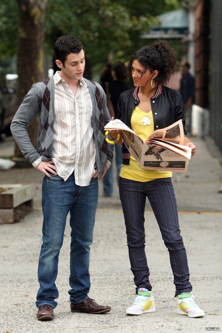 Gossip Girl Season 1. Dan Humphrey, Vanessa Abrams.