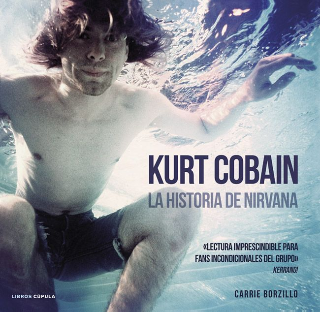 The Spanish-language version of my #Nirvana book is out March 18, 2014. #kurtcobain #books http://carrieborzillo.com/books.html