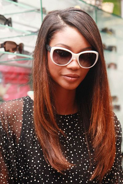 Ombre Weave Hairstyles  Fashion Night Out: Hair Highlights  Sporty Afros  Hairstyles