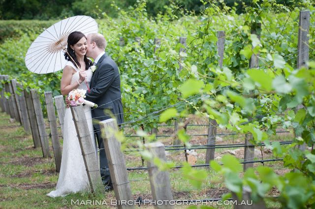 Wedding photography in our vineyard