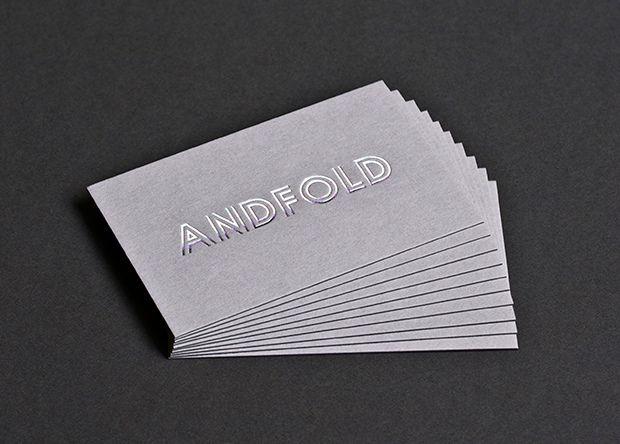 211 best d e s i g n business cards images on pinterest silver foil on grey business cards reheart Choice Image