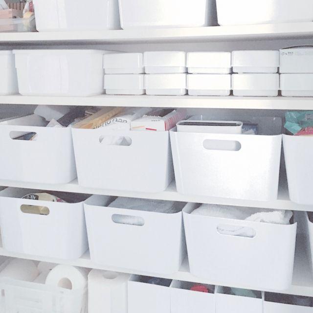 pear-pandaさんの、無印良品,IKEA,パントリー,ダイソー,収納,ニトリ,棚,のお部屋写真