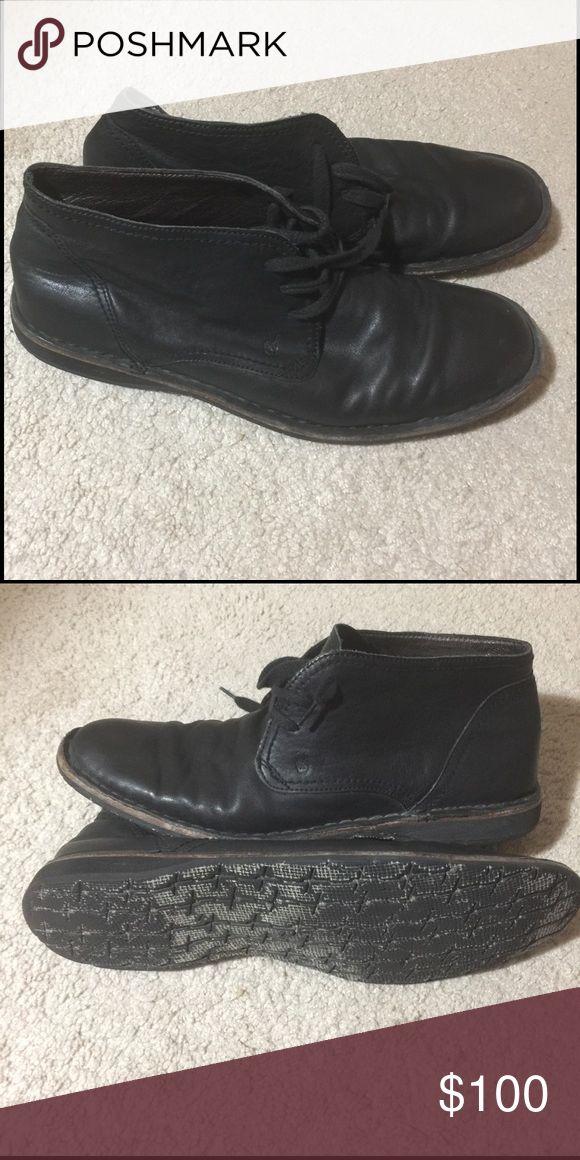 John Varvatos shoes Black chukka shoes size 11.5 John Varvatos Shoes Chukka Boots
