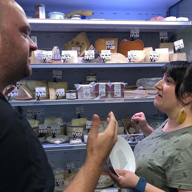Cheesemongers fighting. Its the best. Just stand back and watch the curds fly.