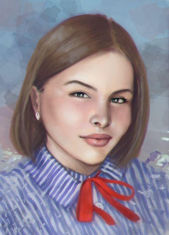 #portrait #art #comission #заказ #портретпофото #портрет