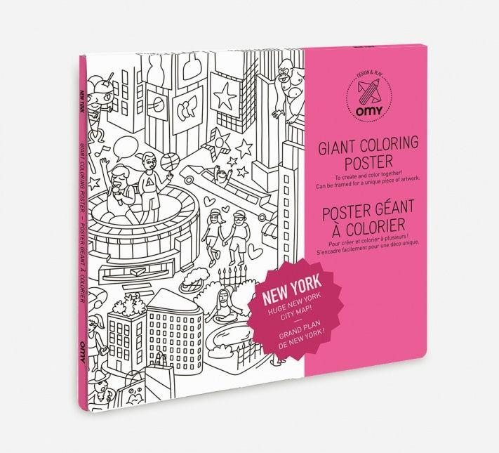 omy maison grote kleurplaat new york speelgoed kleuren
