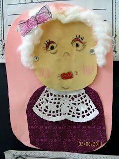 Maro's kindergarten: A cute craft for grandparents day! Μια γλυκιά κατασκευή για την Ημέρα Ηλικιωμένων!
