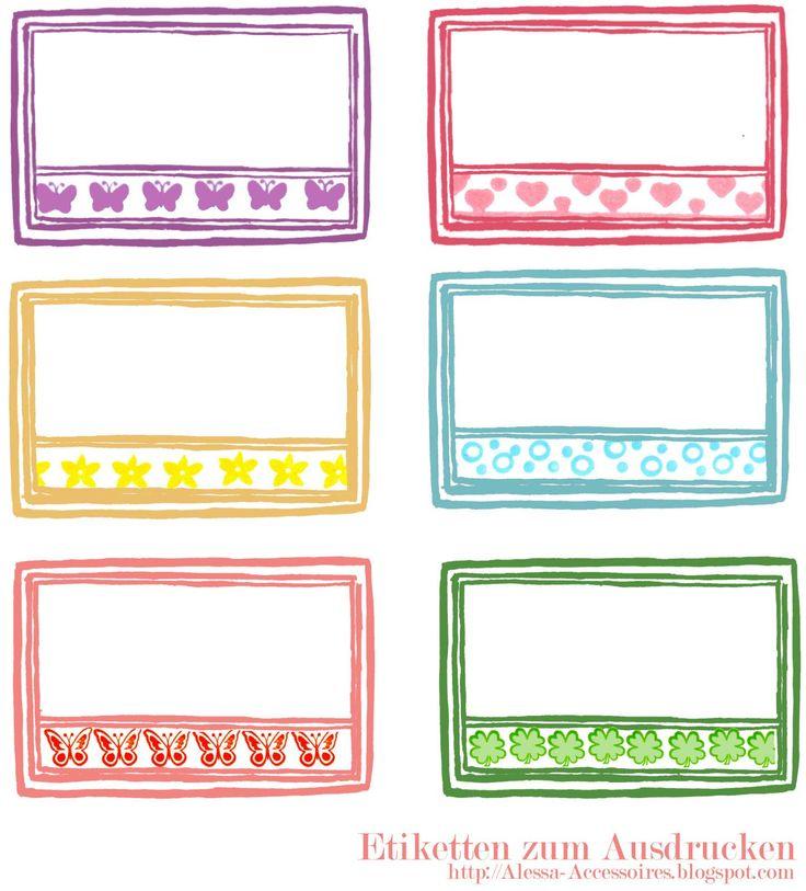 die besten 25 etiketten selber drucken ideen auf pinterest label drucken etiketten selber. Black Bedroom Furniture Sets. Home Design Ideas